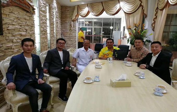 佰草汇出席泰国芭堤雅市市政府考察,实现跨国交流与合作